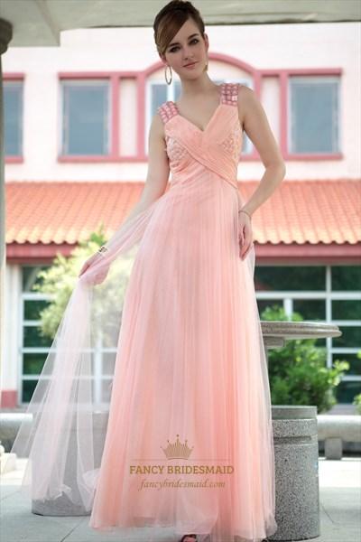 Light Pink Evening Dresses