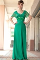 Green Lace Long Sleeve Dress,Long Green Dress With Sleeves UK 2021