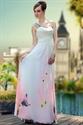 Ivory One Shoulder Dress, One Shoulder Prom Dresses, Long Ivory Dress