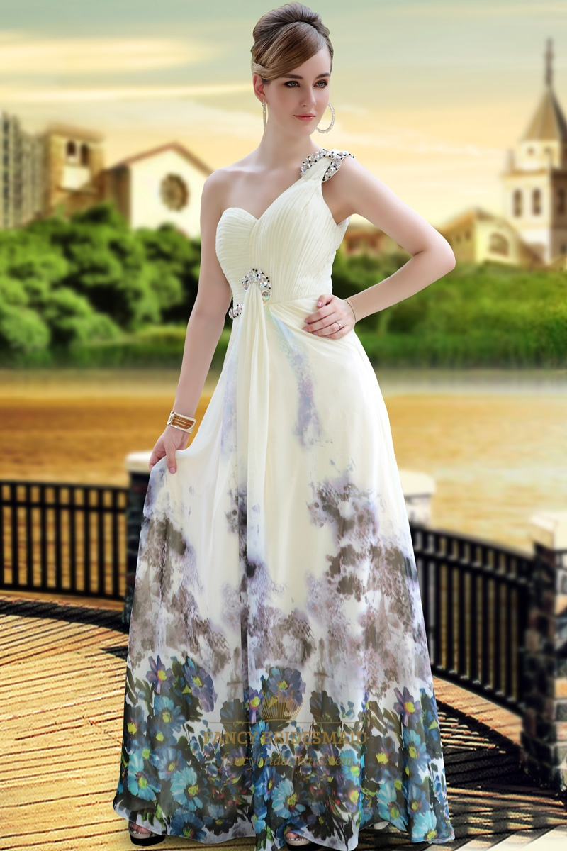 Long Chiffon Dress
