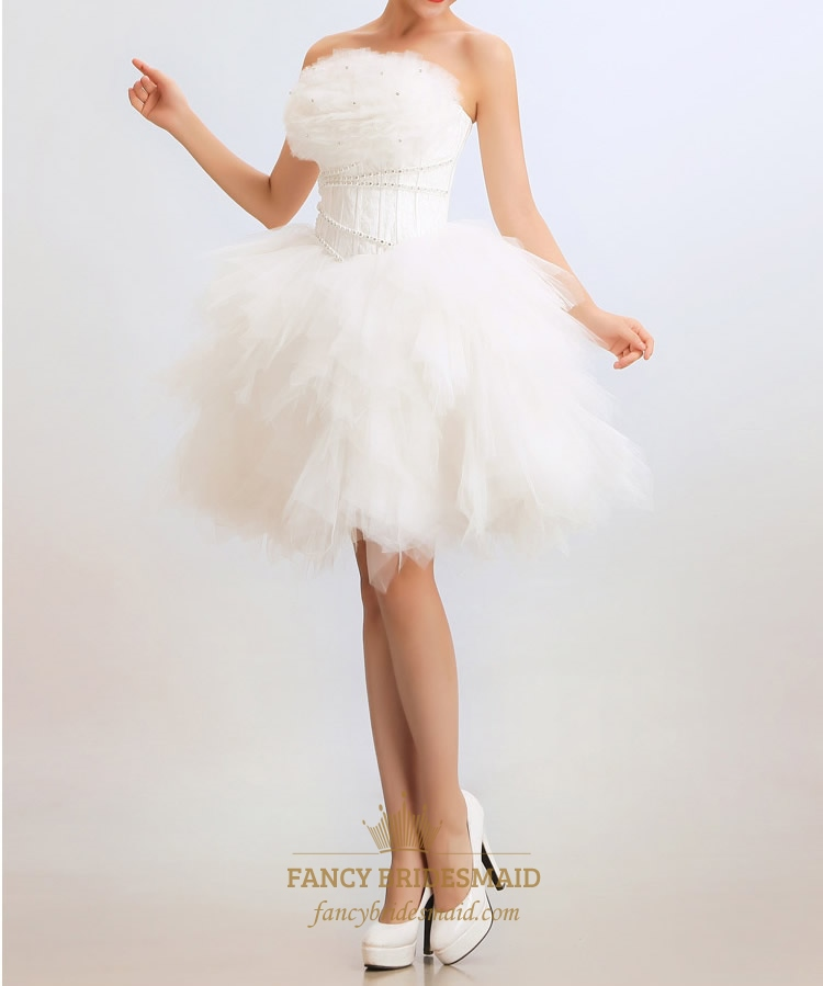 Short Wedding Dresses For Women White Dress Bridal Online