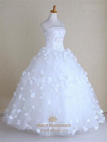 Home Wedding Dresses Lace Wedding Dresses Vintage  Beautiful Strapless    Strapless Vintage Wedding Dresses