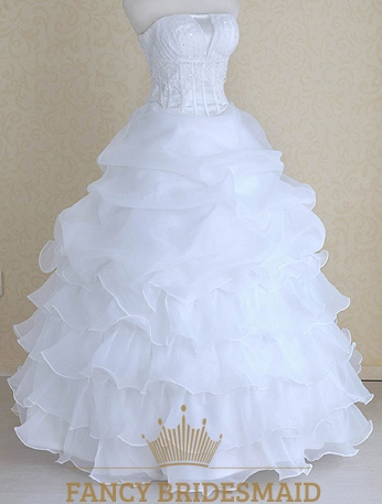 Organza feather wedding dress corset wedding dresses with for How to clean your own wedding dress