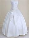 Wedding Dresses With Ribbons And Sashes,Ivory Sweetheart Wedding Dress