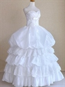 White Princess Dresses For Wedding,Ball Gown Wedding Dresses With Lace