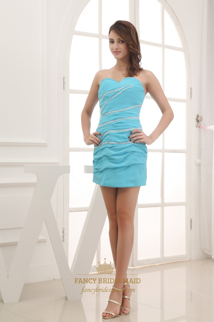 Sky Blue Prom Dresses - Homecoming Prom Dresses