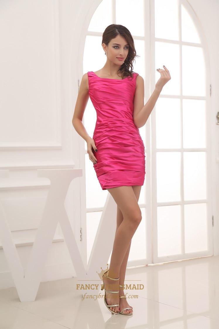 Hot pink short prom dresses 2016hot pink short dresses cheap hot pink short prom dresses 2016cheap short hot pink bridesmaid dresses ombrellifo Gallery
