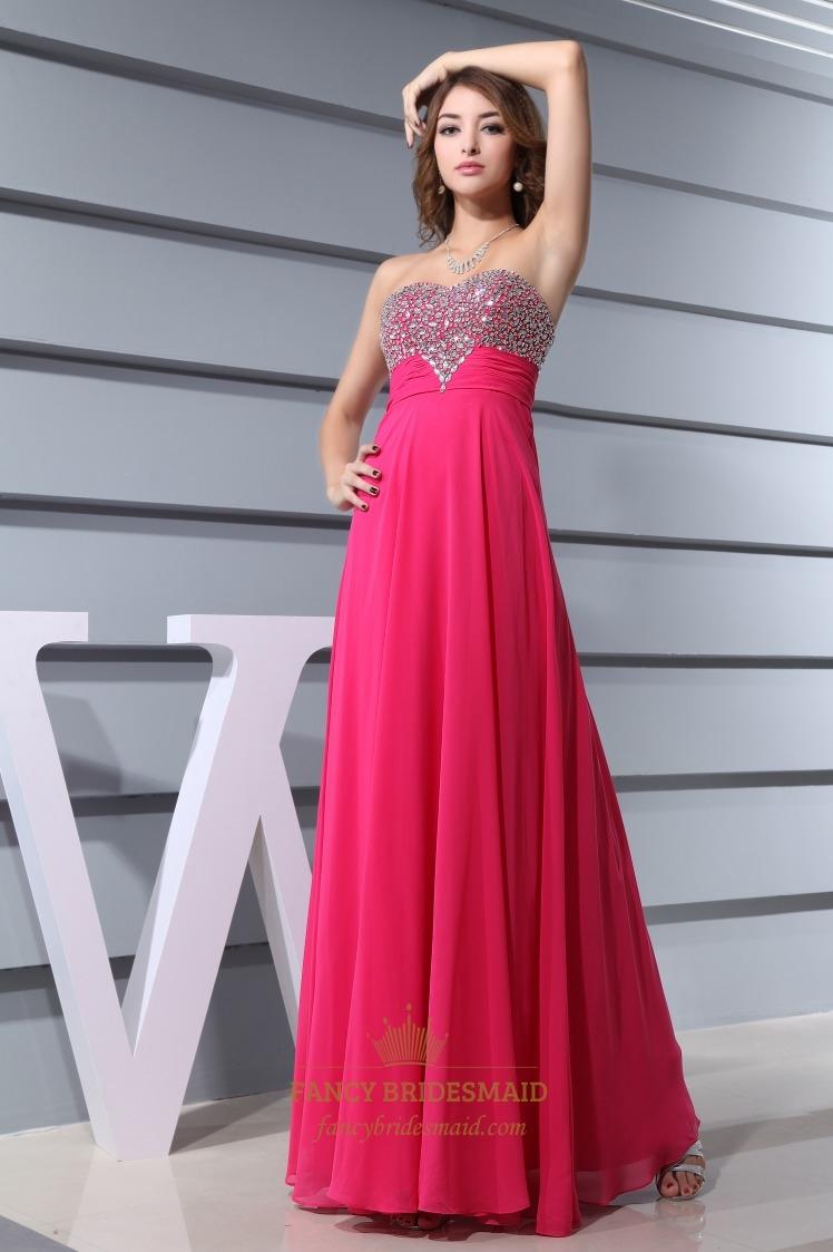 Amazoncom Hot Pink Bridesmaid Dresses