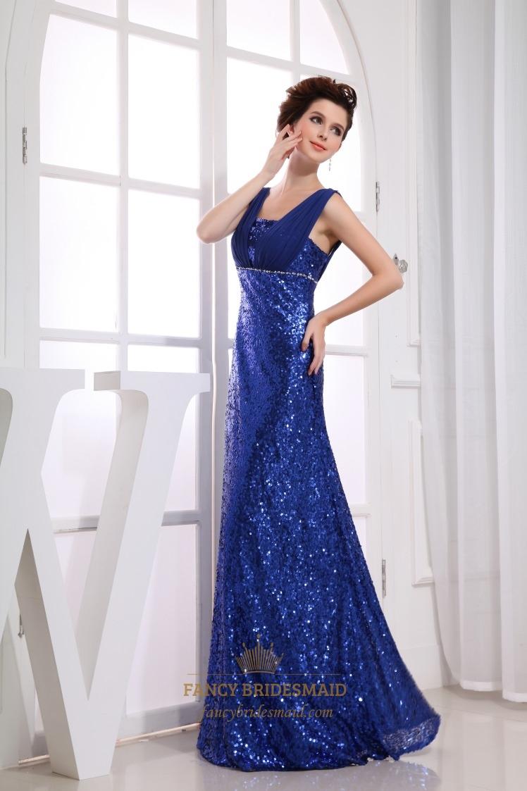 Floor Length Empire Waist Dress