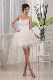 Lace Applique For Pageant Dress, Sweetheart Beaded Organza Homecoming Dress