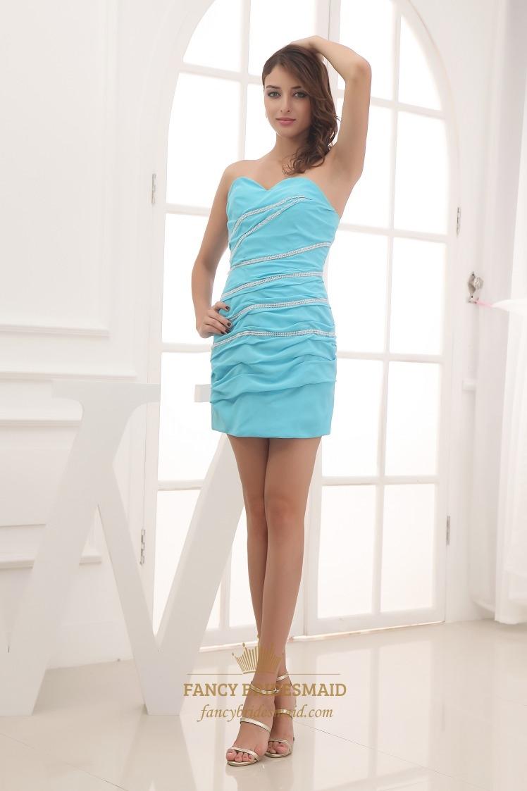 Sky Blue Prom Dresses 63