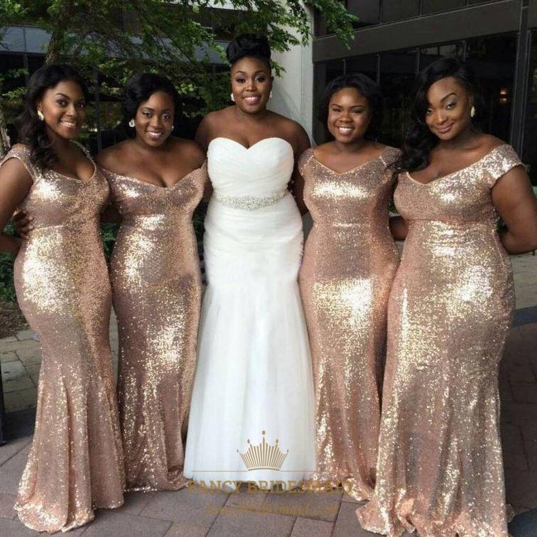 Simple Elegant Bridesmaid Dresses | Fancy Bridesmaid Dresses