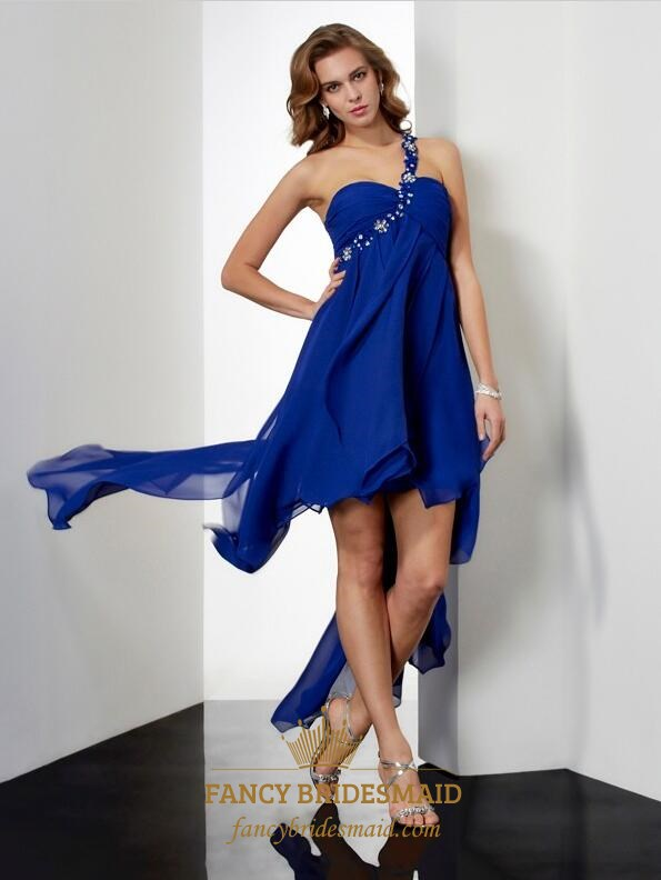 0c7da6ca791 One Shoulder Sleeveless Beaded Keyhole Asymmetrical Short Prom Dress SKU  -FS3490