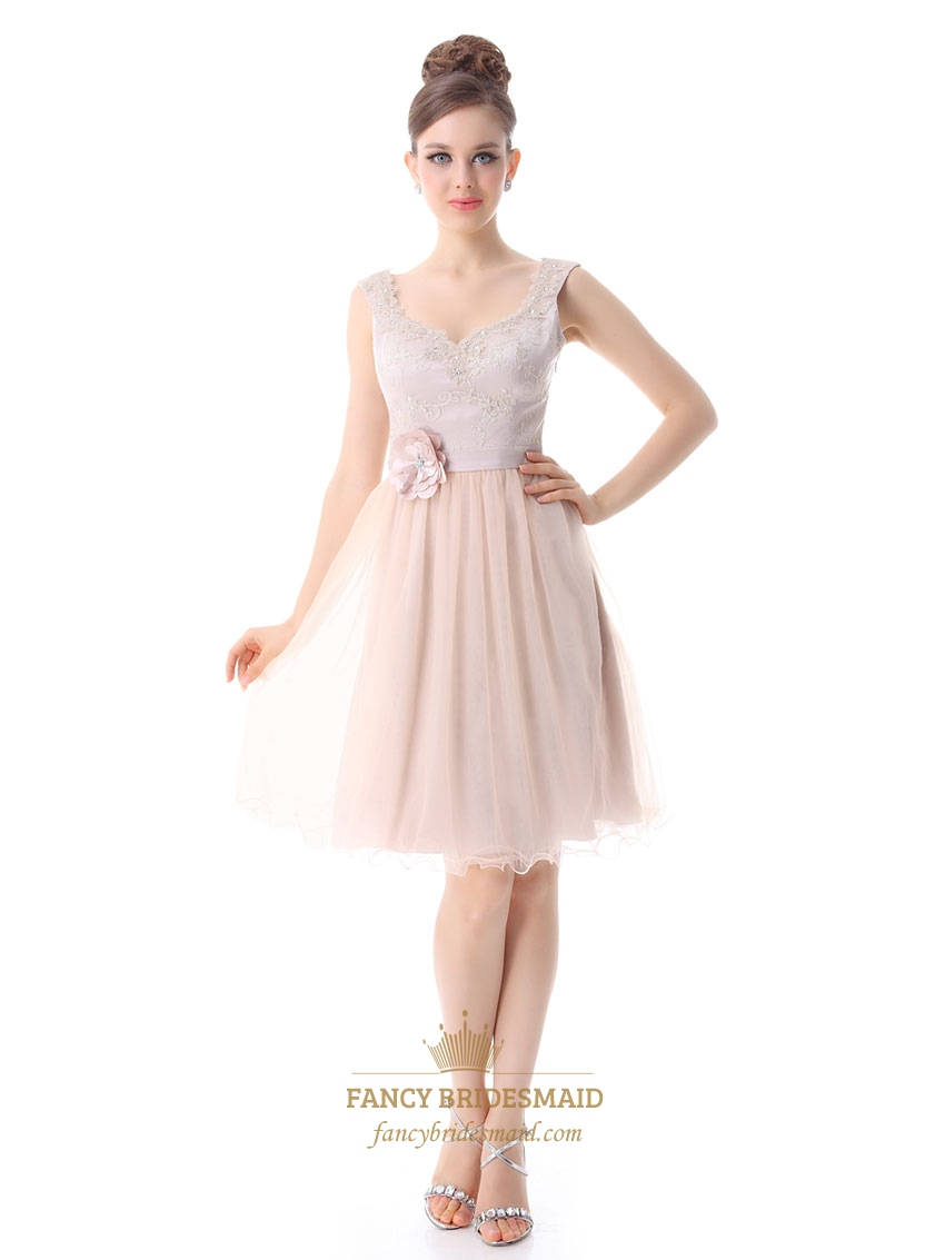 Sparkly Light Pink Cocktail Dress,Pale Pink Cocktail Dresses With ...