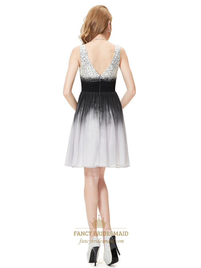 ... Dress For Prom Night,Black And White Graduation Dresses For Kids