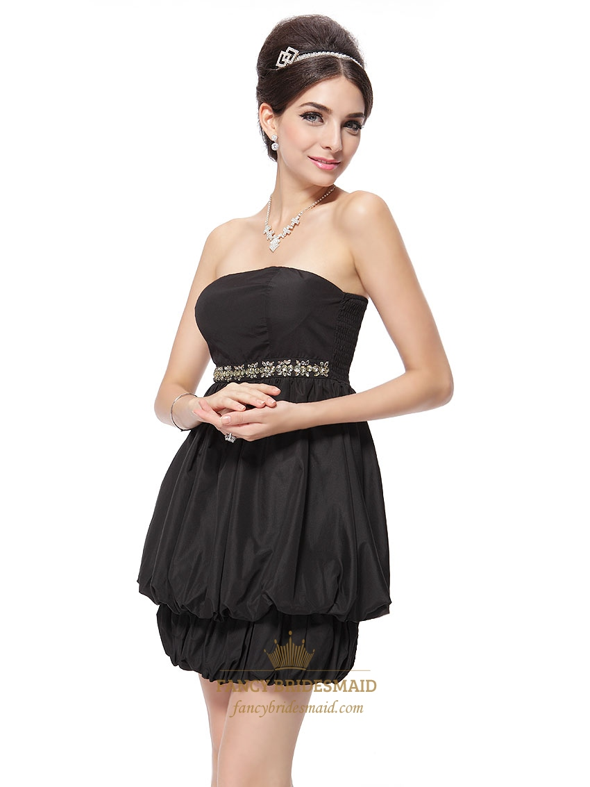 Fancy black cocktail dresses