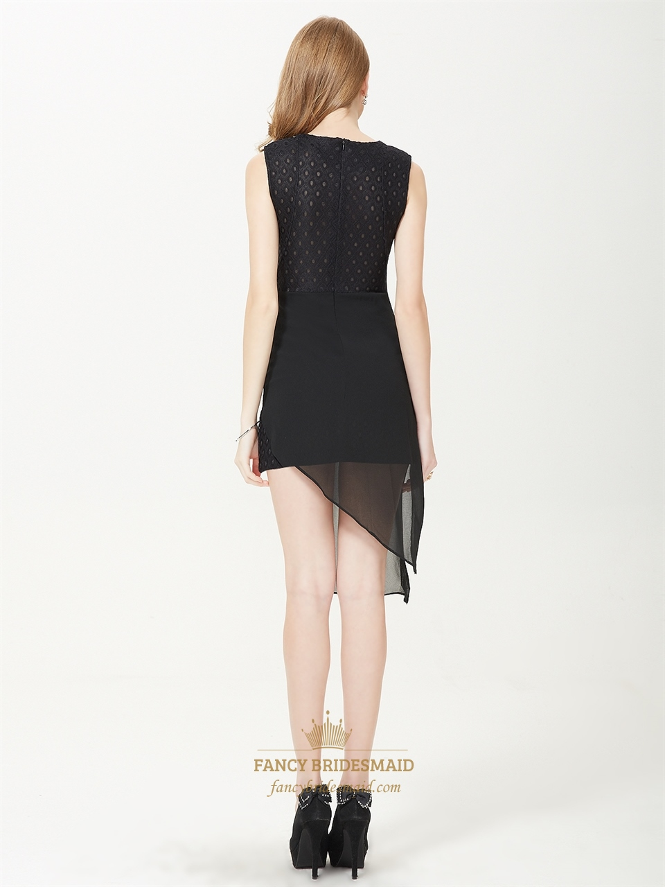 Black Asymmetrical Dresses Black Cocktail Dresses With