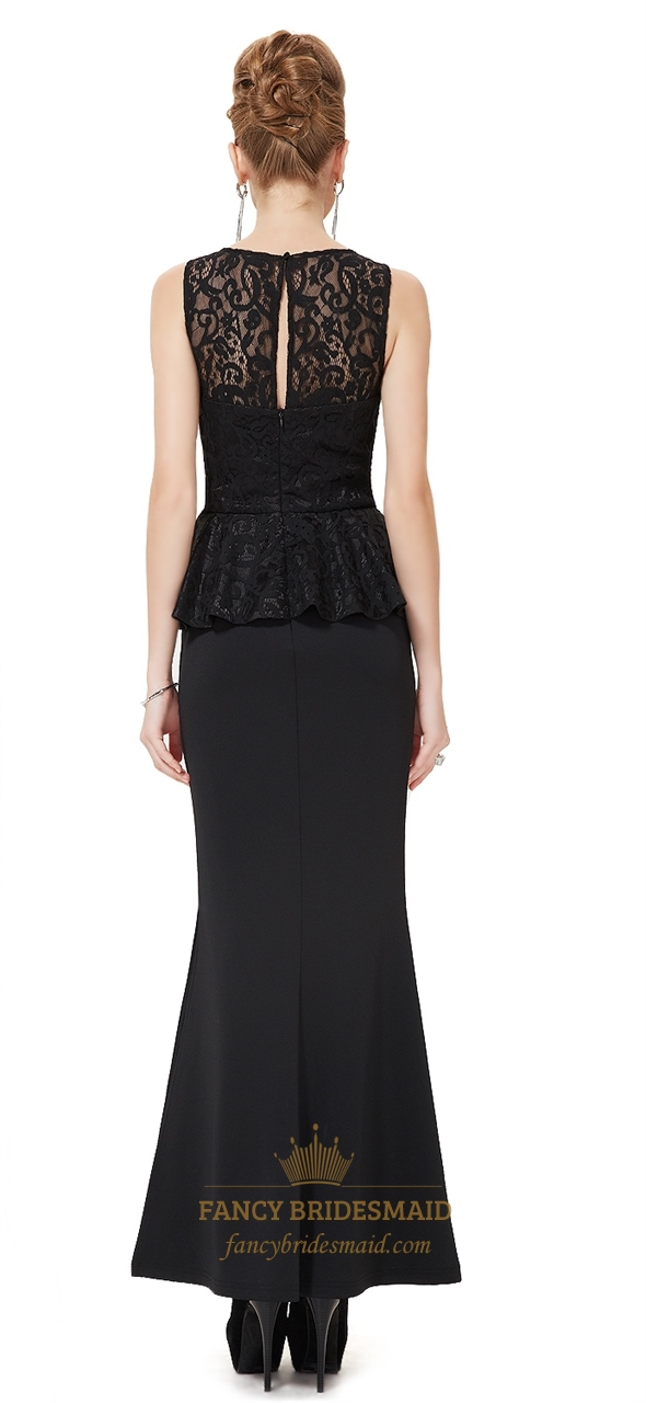 Buy Lace black overlay bridesmaid dresses pictures trends