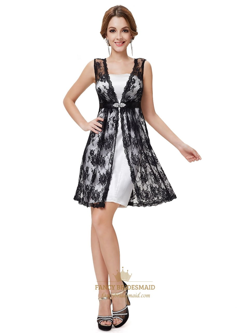 Homecoming Dresses Black And White 35