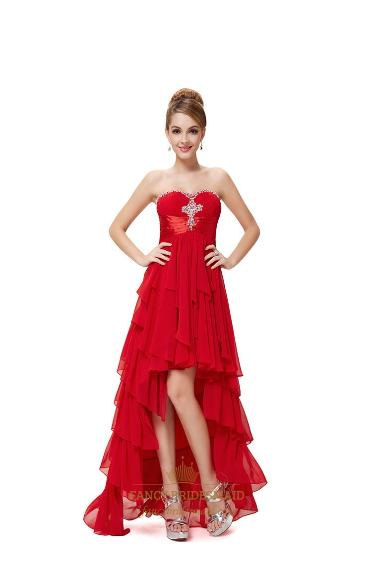 Red high low dresses for teenagersred prom dresses 2016 high low red high low dresses for teenagersred prom dresses 2018 high lowred high ombrellifo Choice Image
