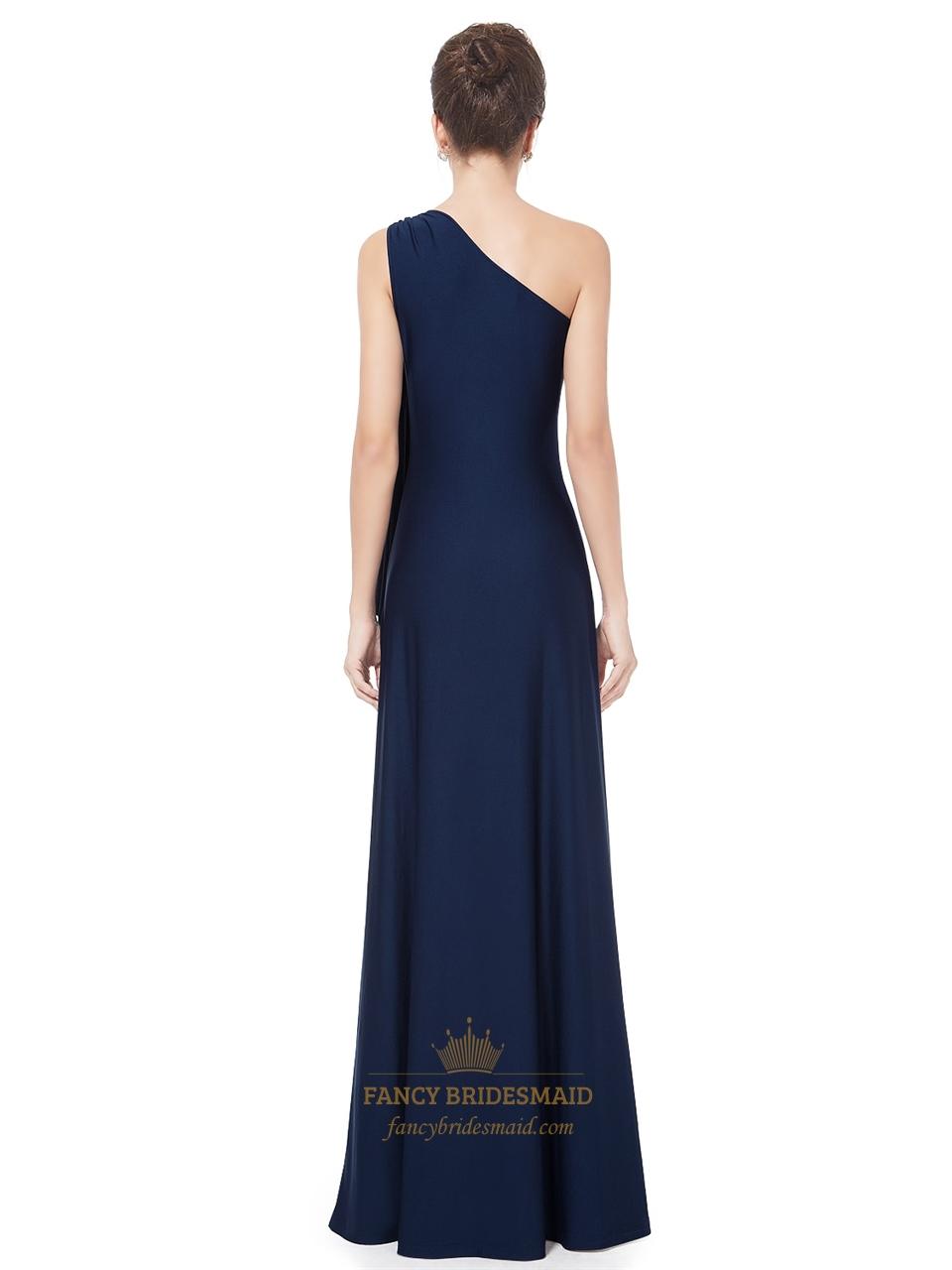 Navy Bridesmaid Dresses Short