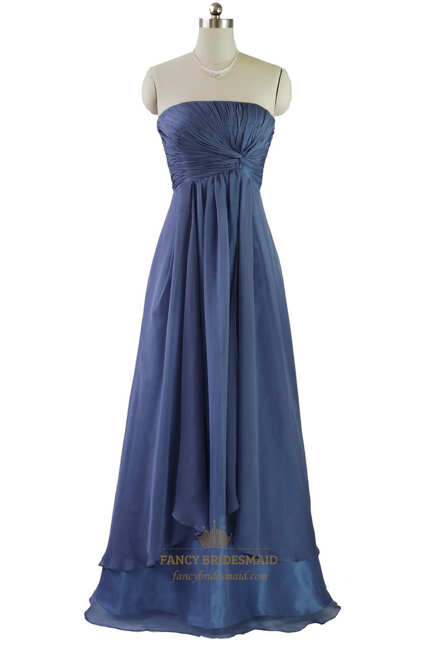 navy blue chiffon bridesmaid dress wwwimgkidcom the
