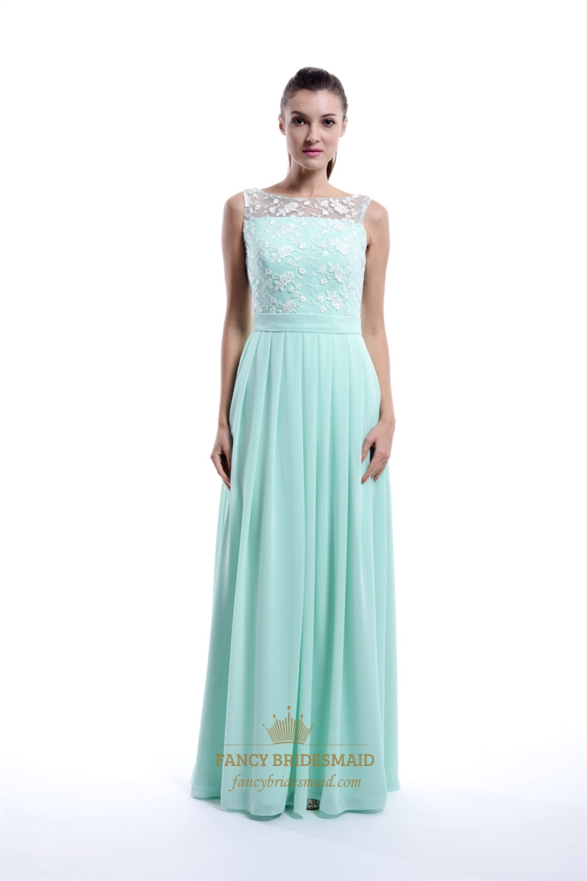 Mint green bridesmaid dresses canada high cut wedding for Mint bridesmaid dresses wedding