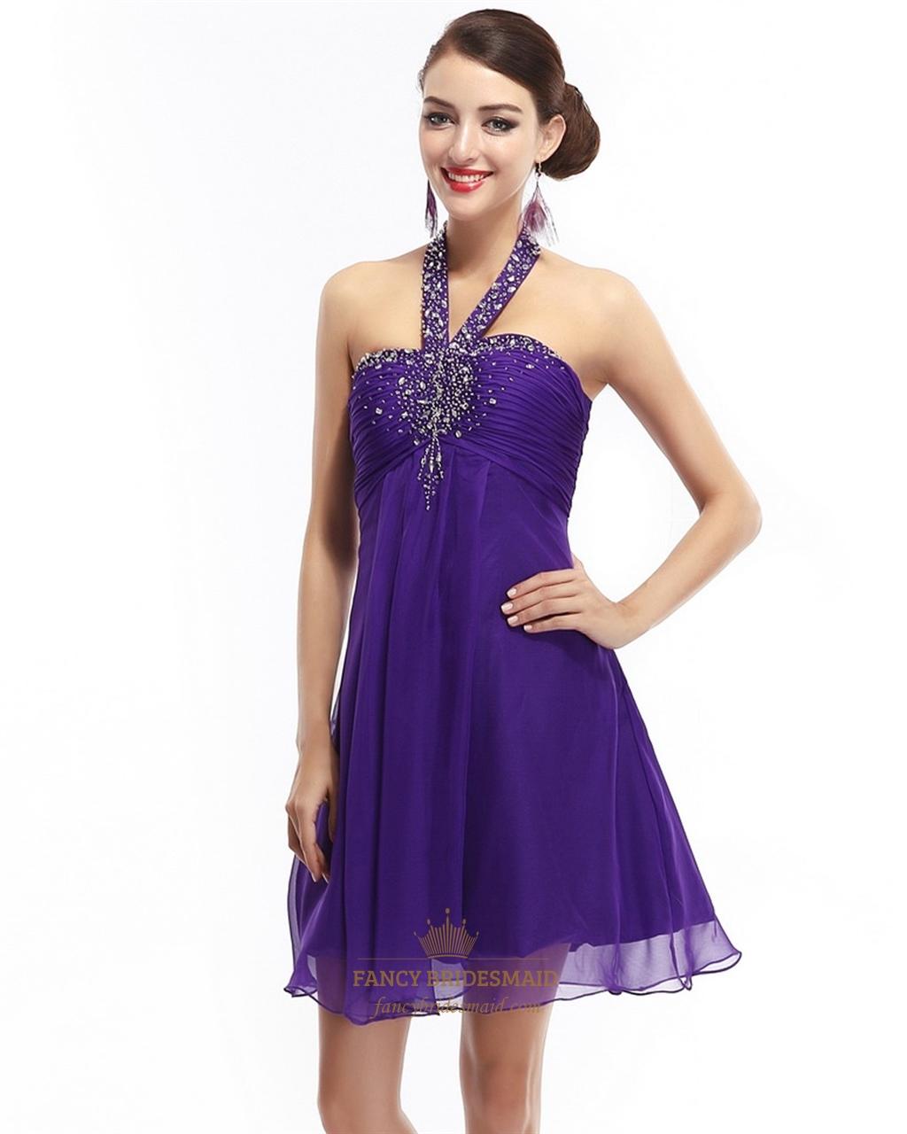 Embellished Empire Dress