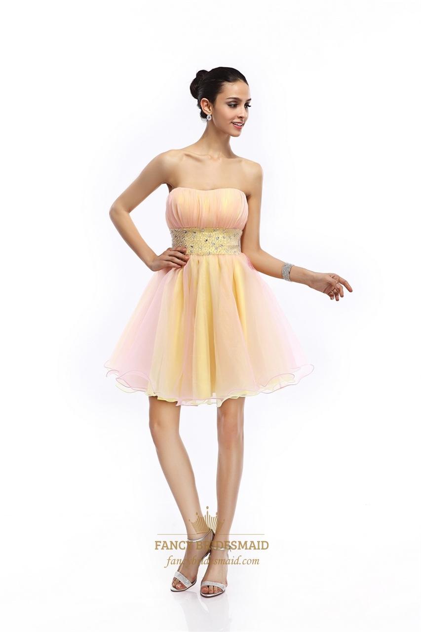 Short Layered Prom Dresses 97