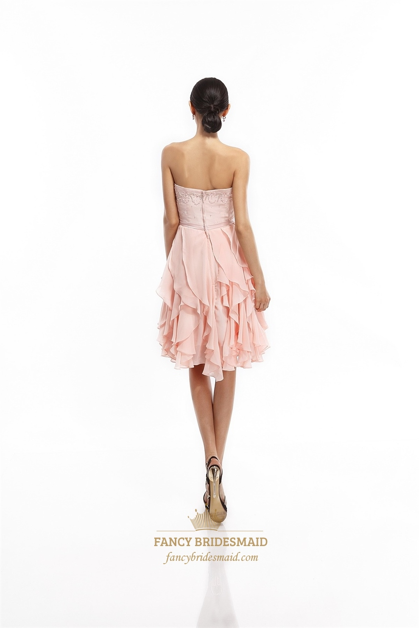 Shop MAGGY LONDON DREAM ONE-SHOULDER CREPE RUFFLE DRESS, LIGHT PINK, starting at $ Similar ones also available. On SALE now!