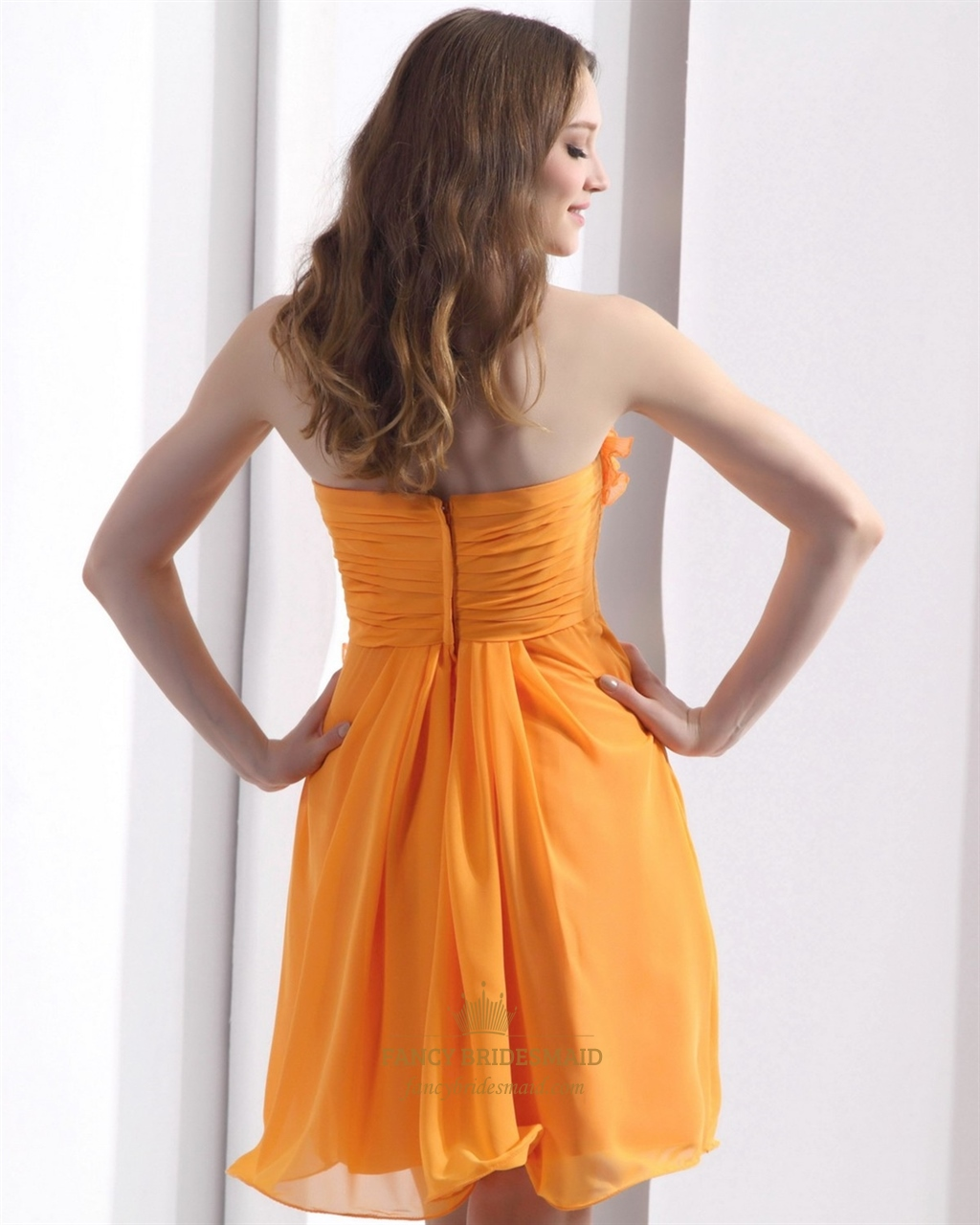 Find great deals on eBay for orange chiffon dress. Shop with confidence.