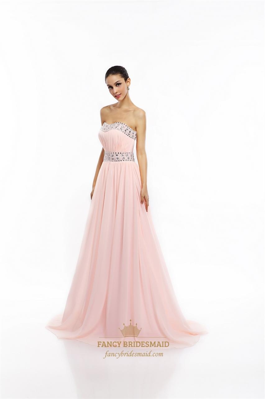 pink strapless prom dresses eligent prom dresses