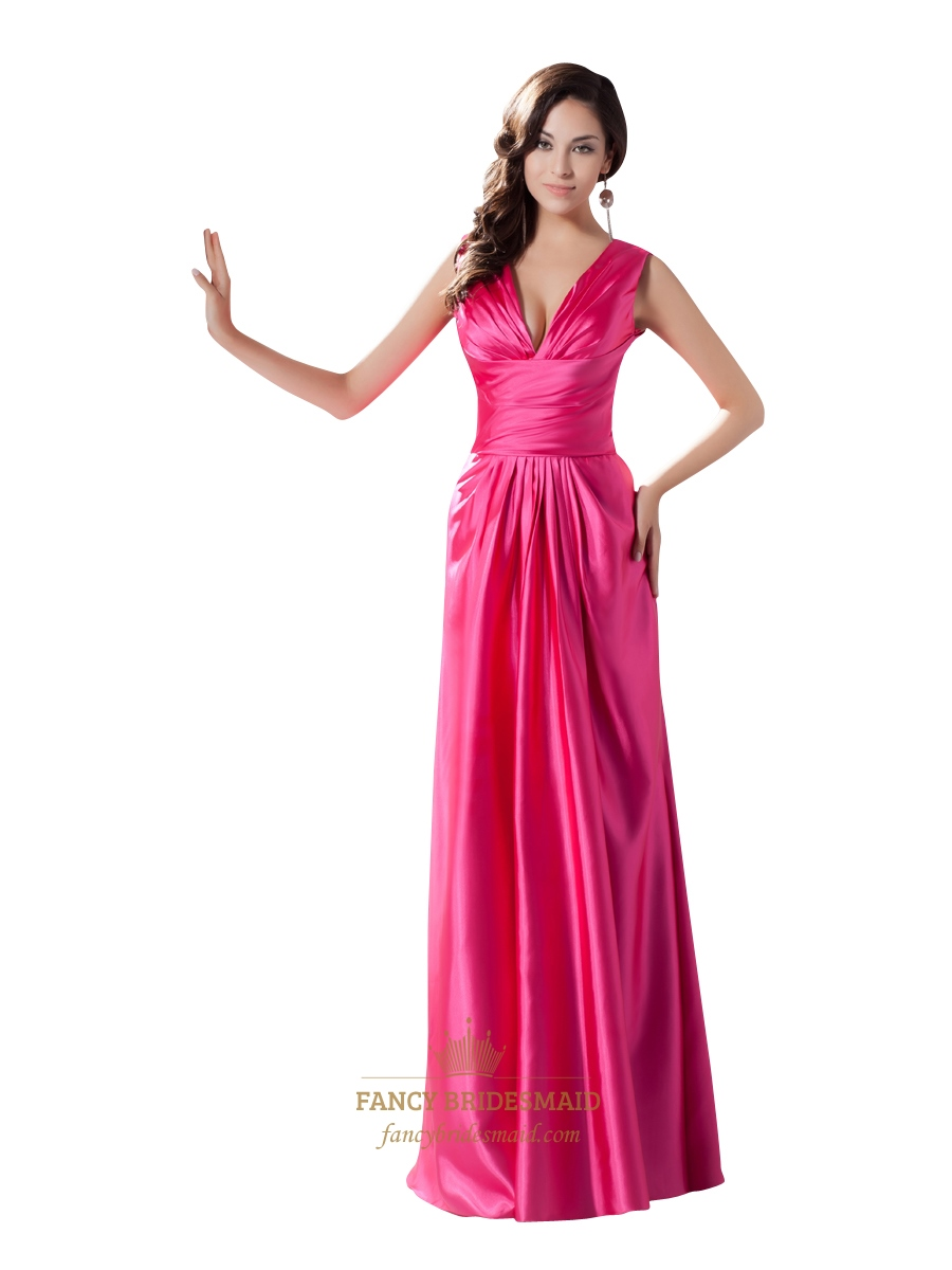 Tiffany Prom Dresses Hot Pink - Cheap Party Dresses