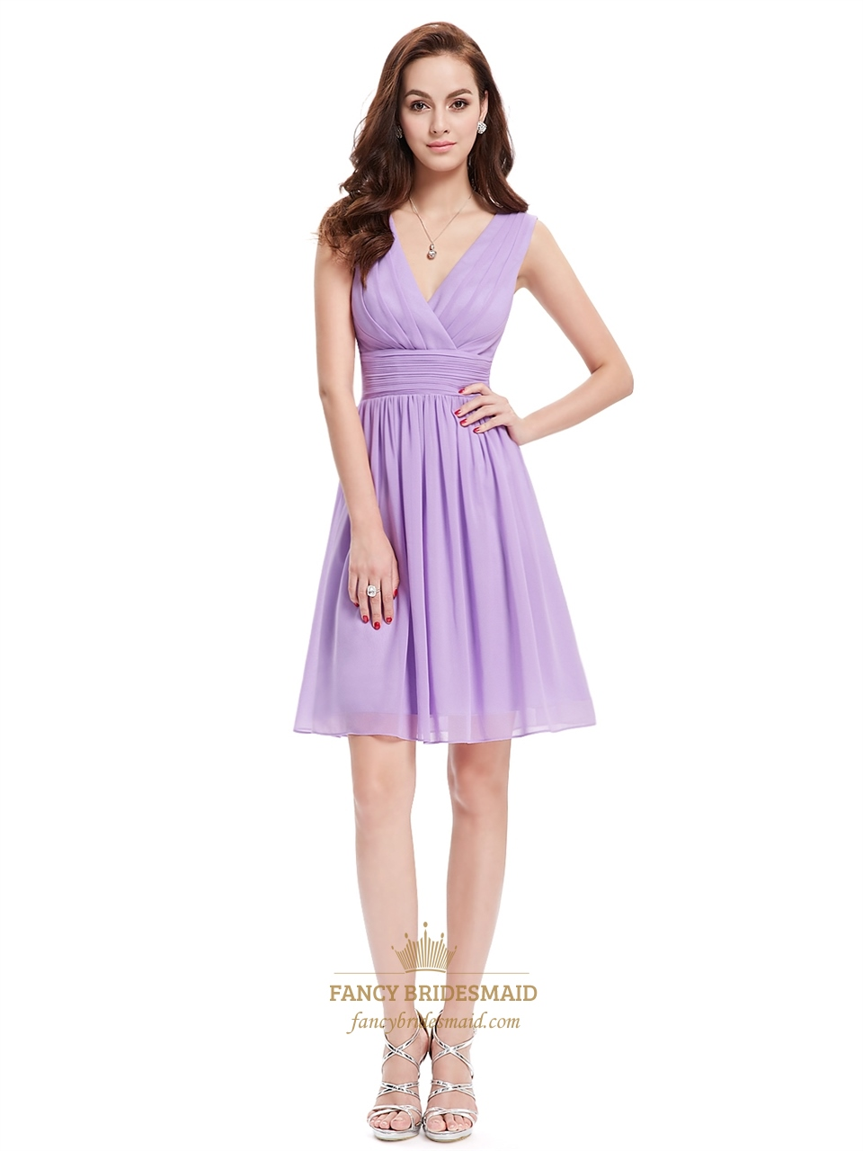 Affordable Lilac Bridesmaid Dresses 118