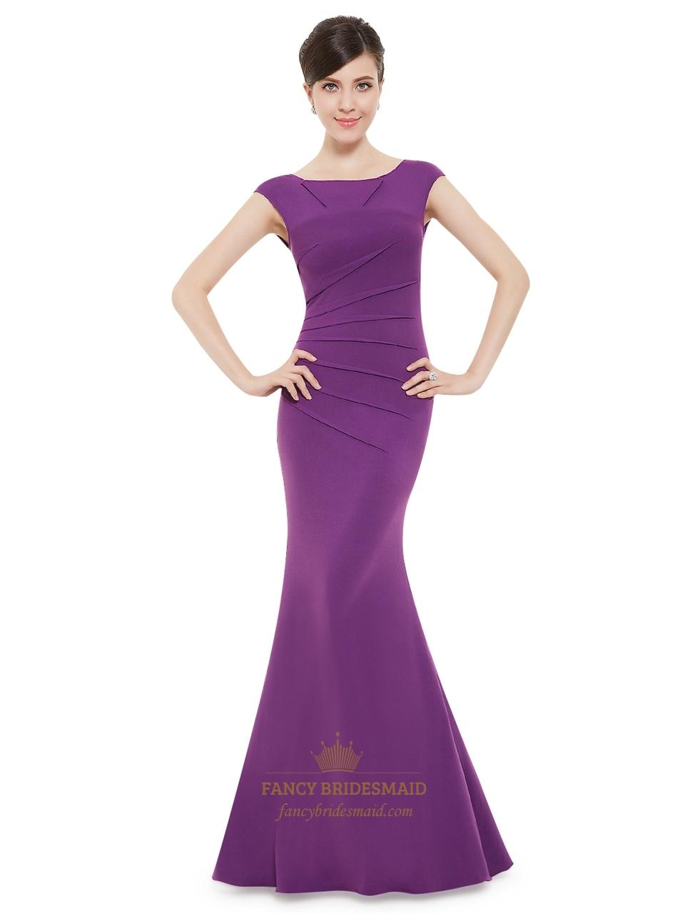 Violet Purple Prom Dresses | Fancy Bridesmaid Dresses
