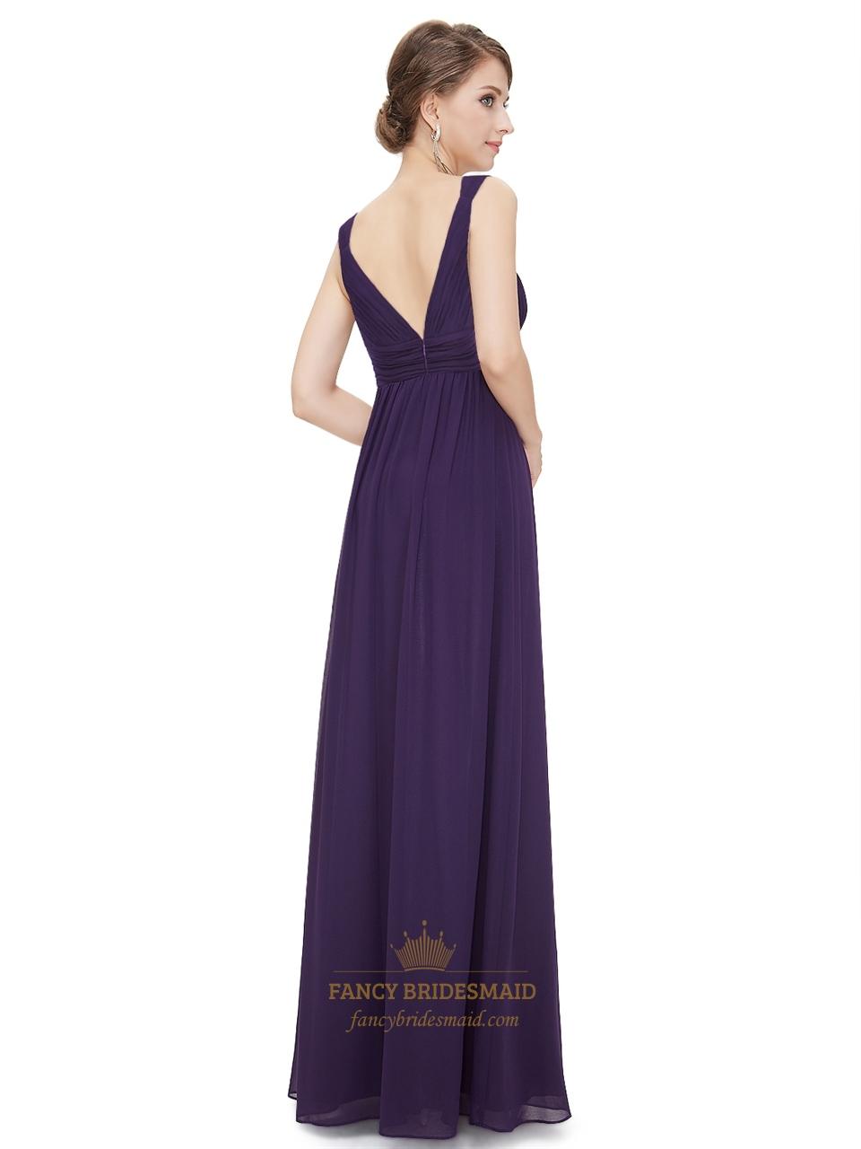 Purple chiffon bridesmaid dress 1358988 - laana-pengar.info