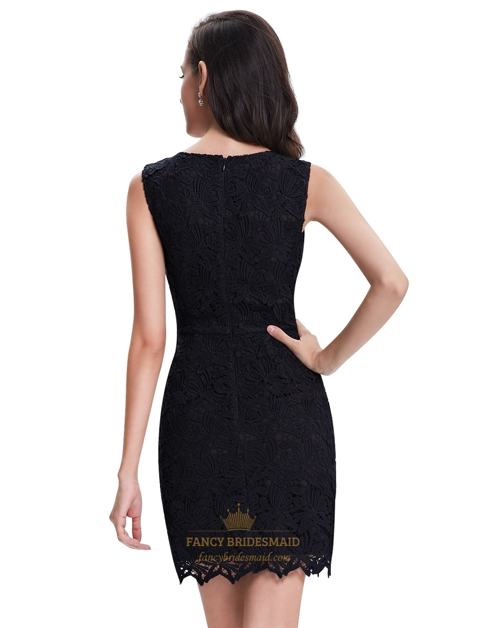 elegant black lace dresses - photo #30