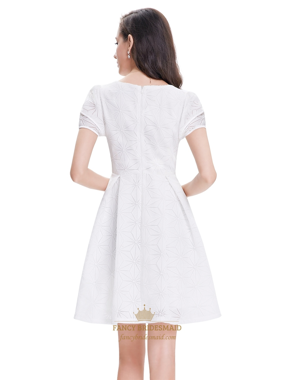 Dresses short white semi formal dresses white cocktail dress short