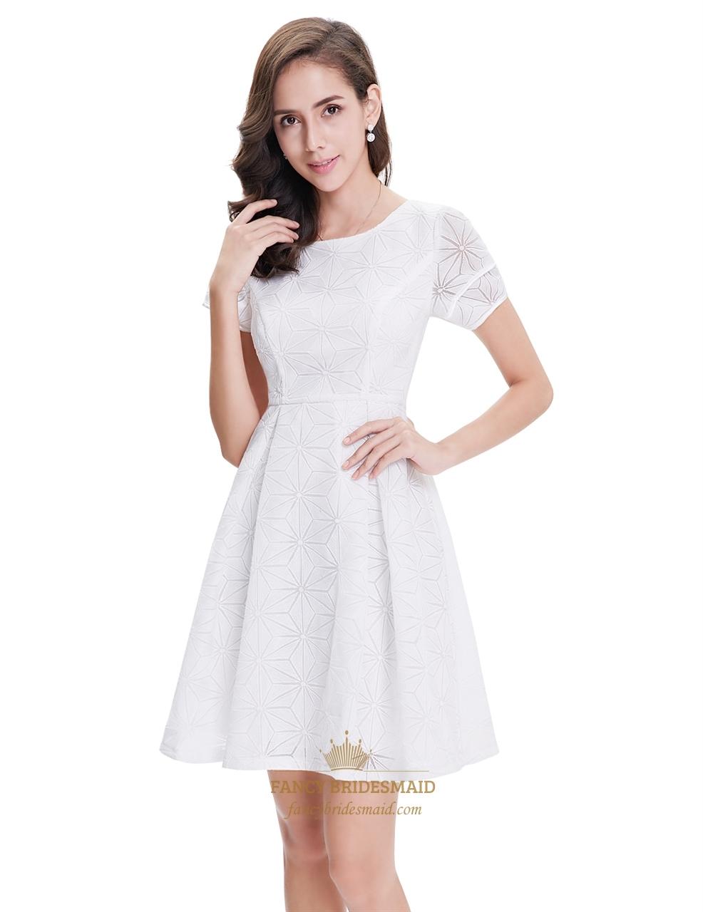 Short Sleeveless Semi Formal Dresses