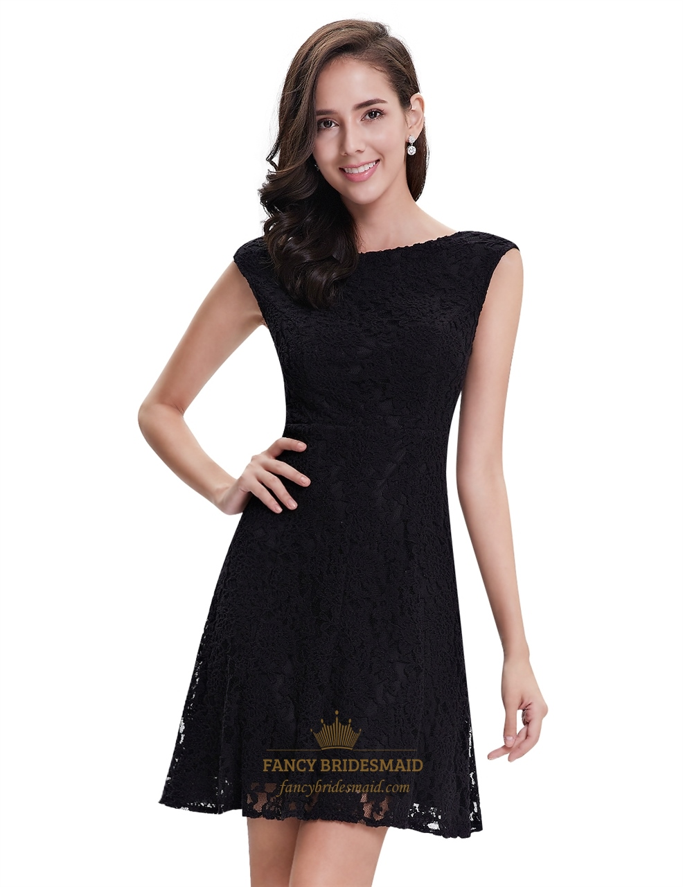 elegant black lace dresses - photo #18