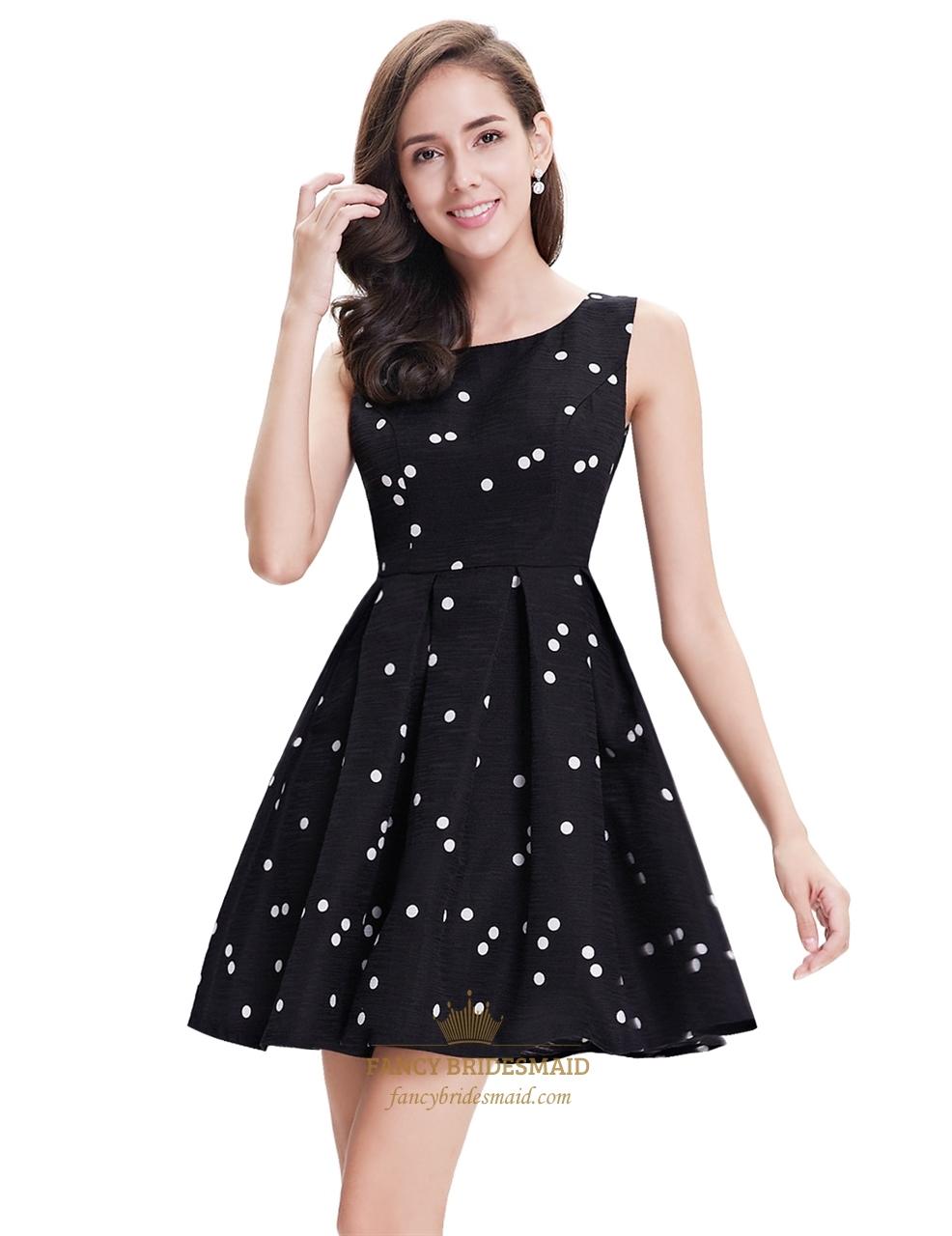 Find black and white polka dot dress from a vast selection of Elegant Dresses for Women. Get great deals on eBay!