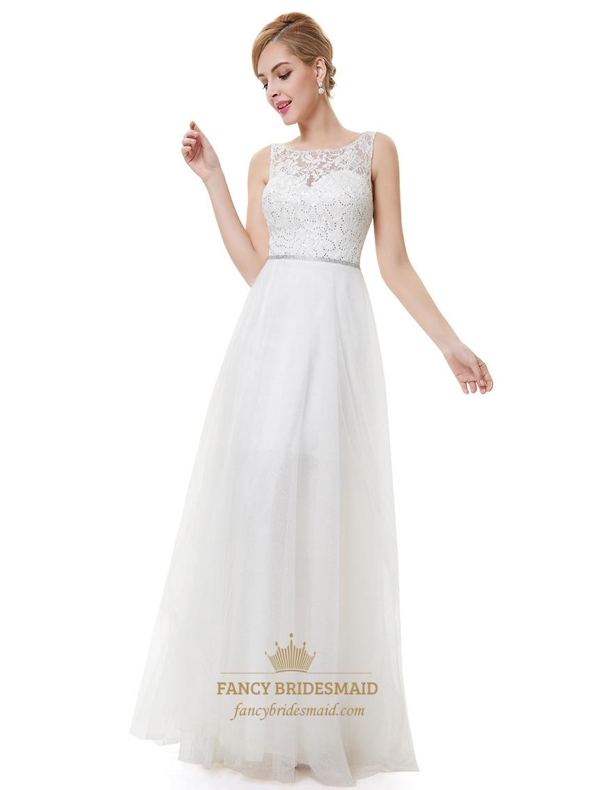 Ivory lace bridesmaid dresses