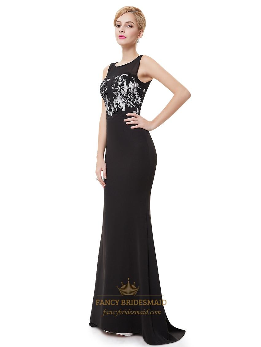 elegant black prom dresses - photo #14