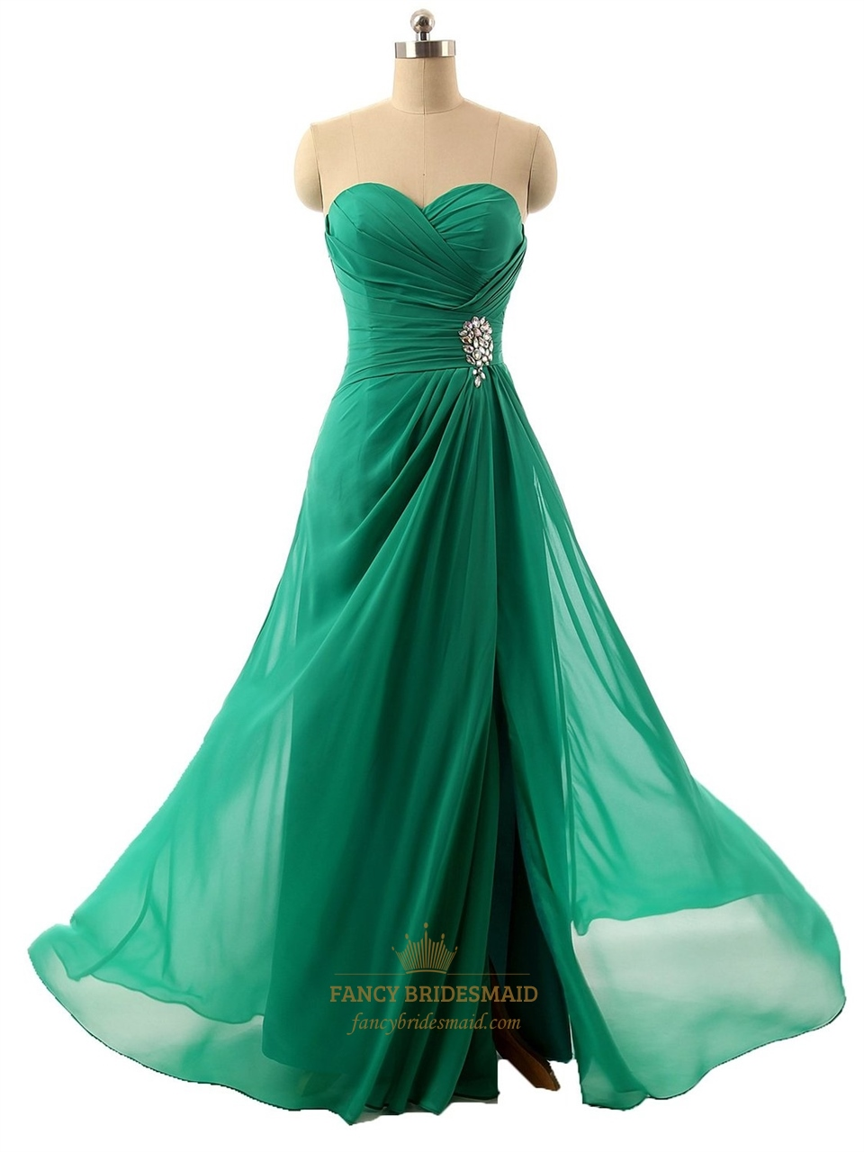 Permalink to Emerald Color Dress