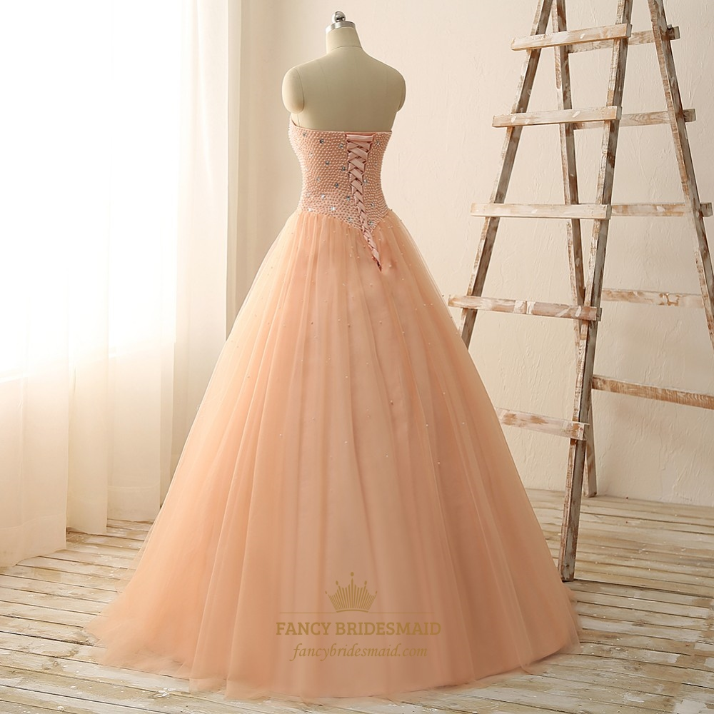 Wedding Dresses Sweetheart Neckline Princess Ball Gown ...