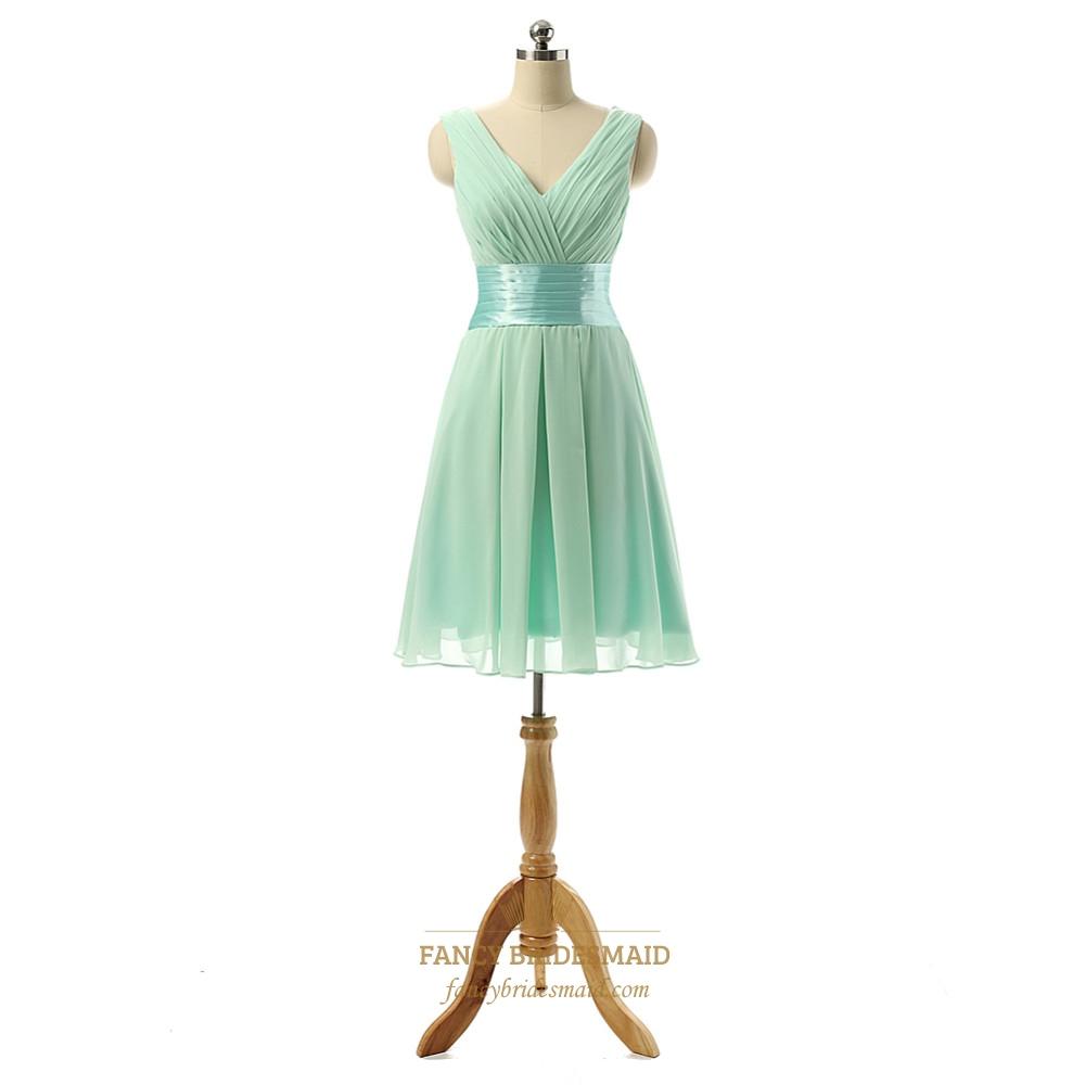 Light Green Dress For Wedding Guest | Fancy Bridesmaid Dresses