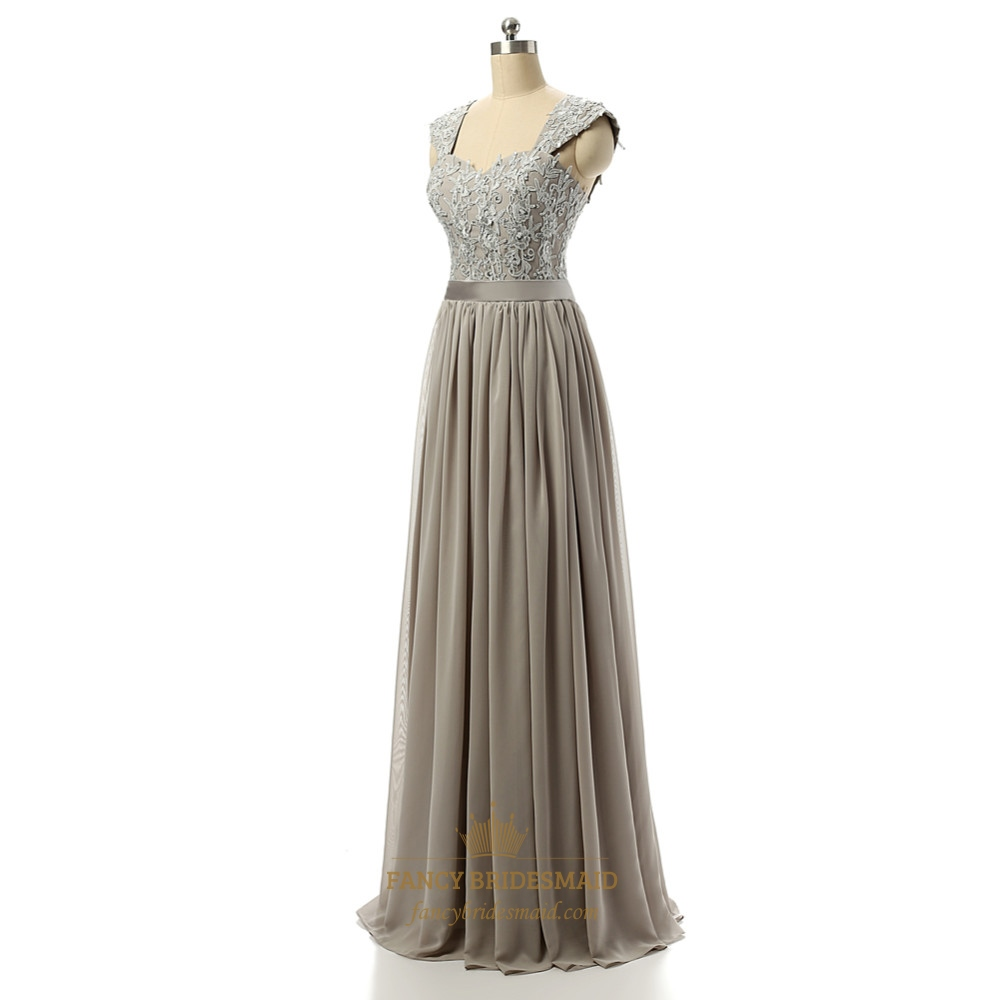 Elegant floor length sleeveless chiffon empire waist dress for Floor length dresses
