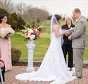 Pearl Pink Chiffon Strapless Long Bridesmaid Dress With Ruffle Detail