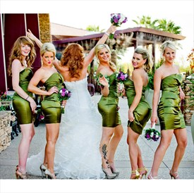 Simple Strapless Sheath Short Bridesmaid Dress With Ruched Embellish