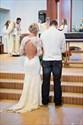 White Long Sleeve Open Back Lace Mermaid Full Length Wedding Dress
